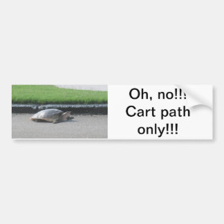 Pegatina para el parachoques/golf, deportes, diver etiqueta de parachoque