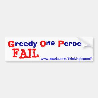 Pegatina para el parachoques - GOP - FALL Etiqueta De Parachoque