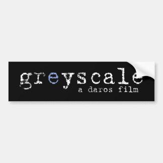 Pegatina para el parachoques Greyscale - negro lla Pegatina Para Auto