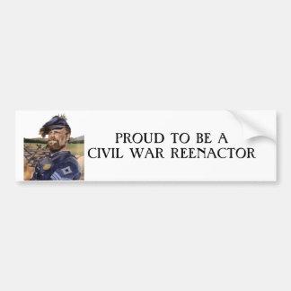 Pegatina para el parachoques, guerra civil pegatina para auto