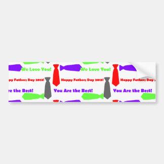 Pegatina para el parachoques (imagen tejada) pegatina para auto
