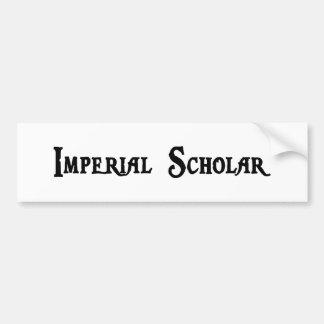 Pegatina para el parachoques imperial del escolar pegatina de parachoque