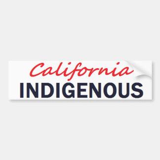 Pegatina para el parachoques INDÍGENA de Californi Pegatina Para Auto