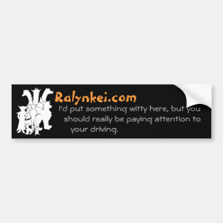 Pegatina para el parachoques ingeniosa de Ralynkei Pegatina Para Auto