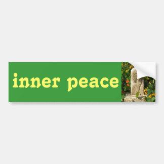 pegatina para el parachoques interna de la paz pegatina de parachoque
