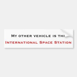 Pegatina para el parachoques internacional de la e pegatina para auto