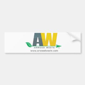 Pegatina para el parachoques inútil de Arwood Pegatina Para Auto