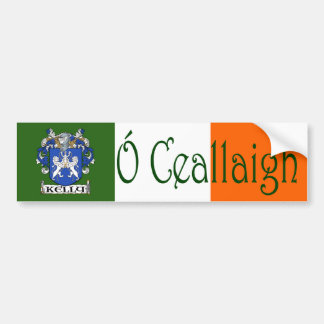 Pegatina para el parachoques irlandesa inglesa del pegatina de parachoque