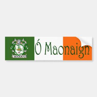 Pegatina para el parachoques irlandesa/inglesa del pegatina de parachoque