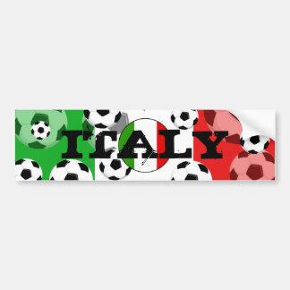 Pegatina para el parachoques Italia de la bola del Pegatina Para Auto