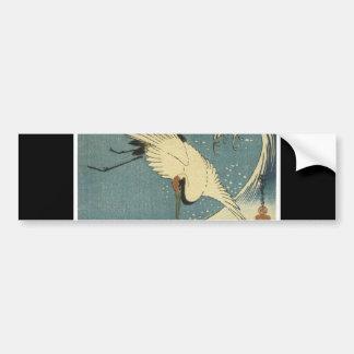 Pegatina para el parachoques japonesa antigua del  pegatina para auto