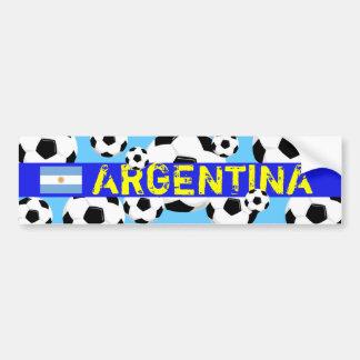 Pegatina para el parachoques la Argentina de la bo Pegatina Para Auto