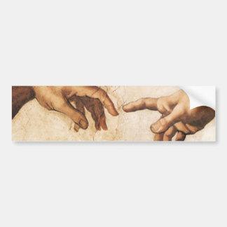 Pegatina para el parachoques - la creación de Adán Pegatina De Parachoque