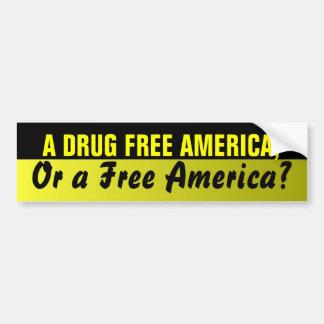 Pegatina para el parachoques libre de América de l Pegatina Para Auto