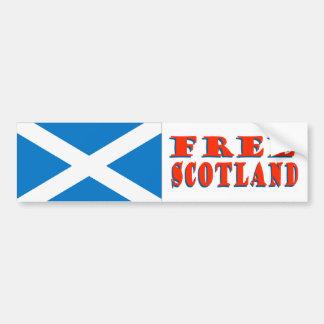 Pegatina para el parachoques libre de Escocia Pegatina De Parachoque
