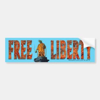 Pegatina para el parachoques libre de la libertad pegatina para auto