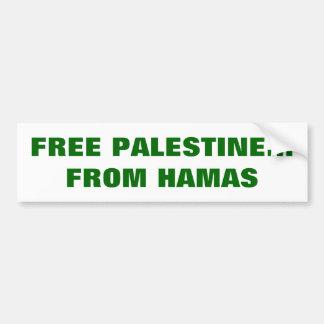 Pegatina para el parachoques libre de Palestina Pegatina Para Coche