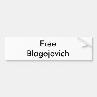 Pegatina para el parachoques libre de Rod Blagojev Pegatina Para Auto