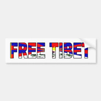 Pegatina para el parachoques libre de Tíbet Pegatina Para Auto