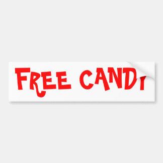Pegatina para el parachoques libre del caramelo pegatina para auto