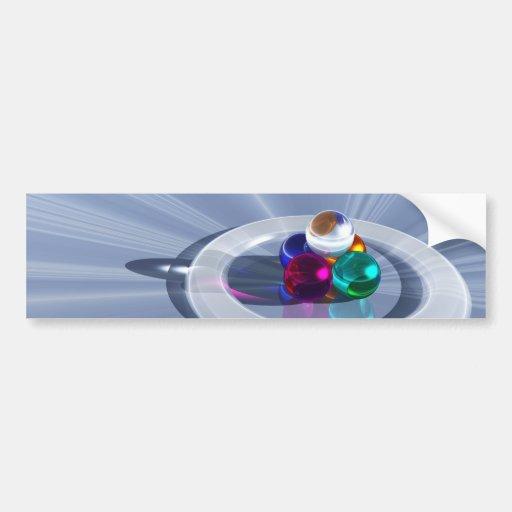 Pegatina para el parachoques ligera de doblez etiqueta de parachoque