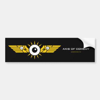 Pegatina para el parachoques - logotipo del color  pegatina para auto