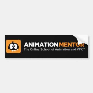Pegatina para el parachoques - mentor de la animac etiqueta de parachoque