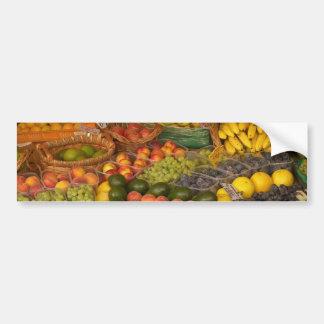 Pegatina para el parachoques mezclada de la fruta pegatina para auto