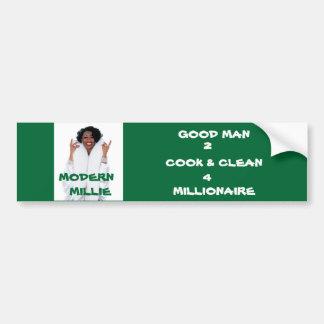 Pegatina para el parachoques moderna de Millie Pegatina Para Auto