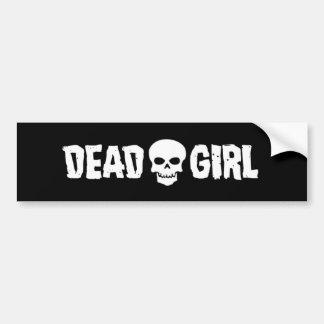 Pegatina para el parachoques muerta del logotipo pegatina para auto