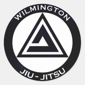 Pegatina para el parachoques negra de WJJ
