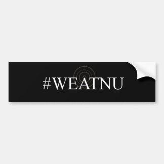 Pegatina para el parachoques negra del #WEATNU Pegatina Para Auto