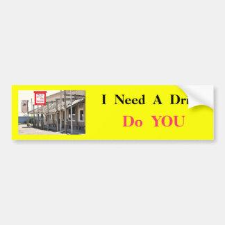 Pegatina para el parachoques ningunos # 5 - almacé pegatina para auto