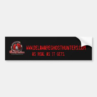 Pegatina para el parachoques oficial de los cazado etiqueta de parachoque