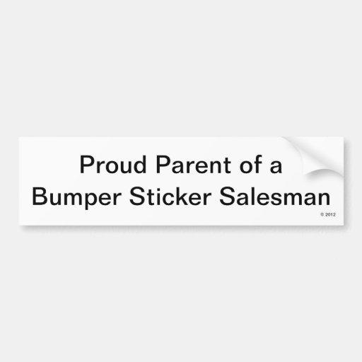 Pegatina para el parachoques orgullosa del padre etiqueta de parachoque