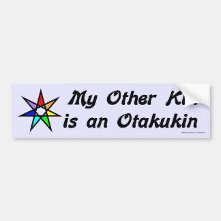 Pegatina para el parachoques - Otakukin Pegatina De Parachoque