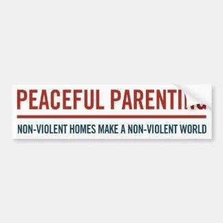Pegatina para el parachoques pacífica del Parentin Etiqueta De Parachoque