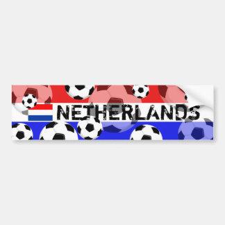 Pegatina para el parachoques Países Bajos de la bo Etiqueta De Parachoque