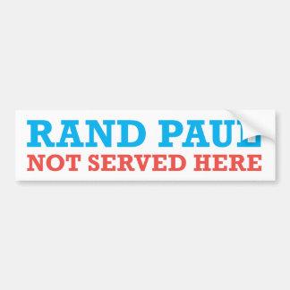 Pegatina para el parachoques patriótica de Paul de Etiqueta De Parachoque