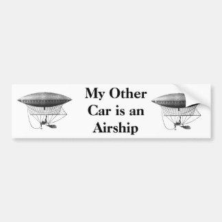 Pegatina para el parachoques personal del dirigibl pegatina para auto