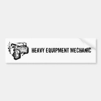 Pegatina para el parachoques pesada del mecánico d pegatina de parachoque