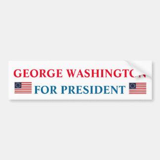 Pegatina para el parachoques presidencial: George Pegatina Para Auto