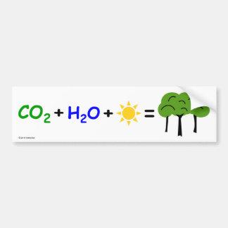 Pegatina para el parachoques Pro-CO2 Pegatina Para Auto