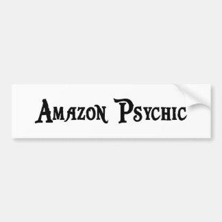 Pegatina para el parachoques psíquica del Amazonas Etiqueta De Parachoque