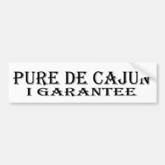 Pegatina para el parachoques Pure De Cajun Pegatina Para Auto