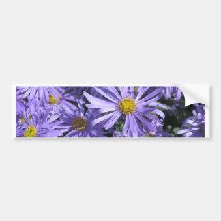 Pegatina para el parachoques púrpura de la flor pegatina para auto