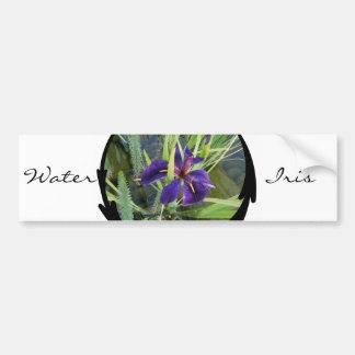 Pegatina para el parachoques púrpura del iris del  pegatina para auto