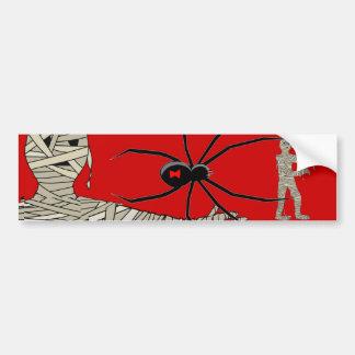 Pegatina para el parachoques que camina de la momi etiqueta de parachoque