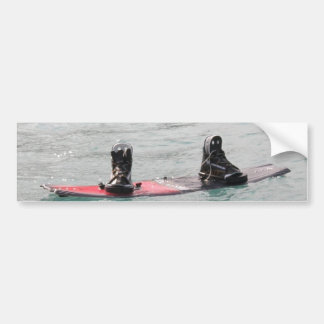 Pegatina para el parachoques que falta del Wakeboa Pegatina De Parachoque