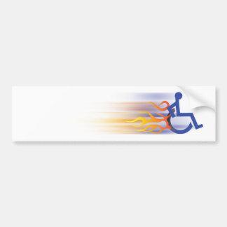 Pegatina para el parachoques rápida de la silla pegatina para auto